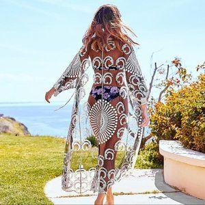 💥💥Elegant Sheer Swimsuit CoverUp
